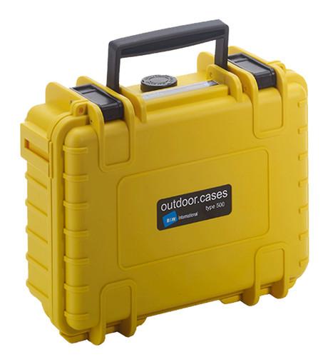 B&W type 500 geel met plukschuim Main Image