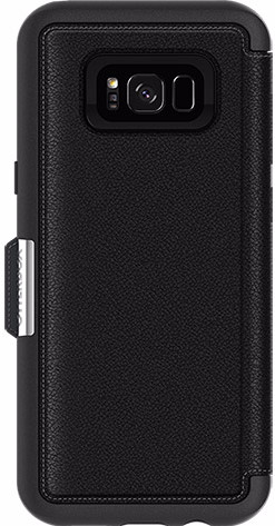 best authentic 06168 3a763 Otterbox Strada Samsung Galaxy S8 Plus Book Case Black