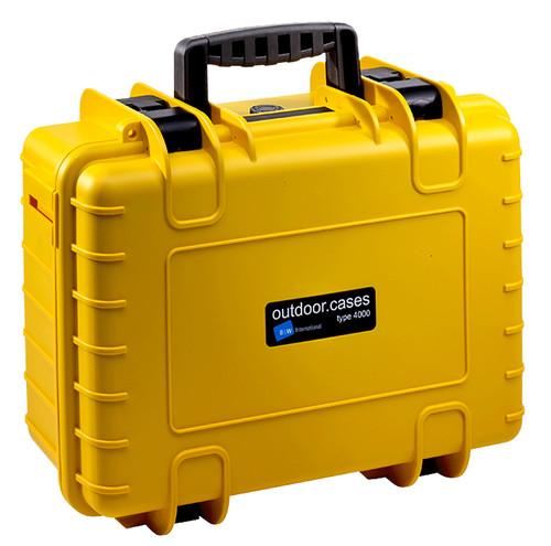 B&W type 4000 geel met plukschuim Main Image