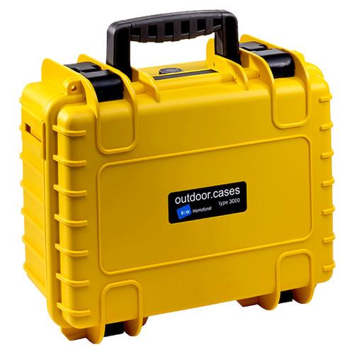 B&W type 3000 geel met plukschuim Main Image