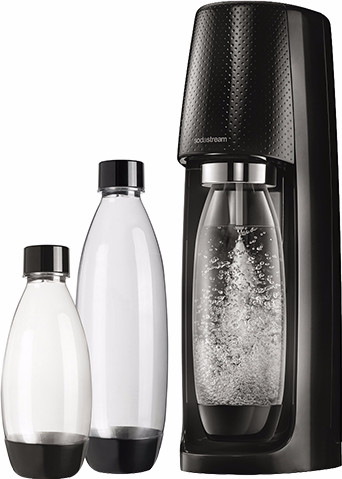 SodaStream Crystal Noir + 3 bouteilles Main Image