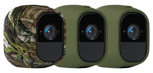 Arlo Pro Skin 3-Pack Camouflage, Groen Main Image