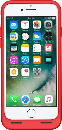 official photos e0eb7 e66ac Apple iPhone 7 Smart Battery Case (PRODUCT)RED