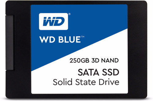 WD Blue 3D NAND 250GB 2,5 inch Main Image