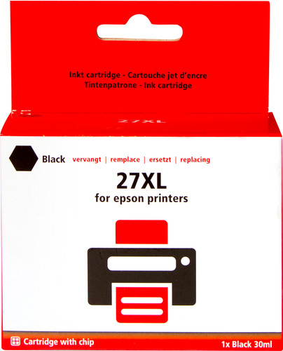 Pixeljet 27 XL Cartridge Black for Epson printers (C13T27114010) Main Image