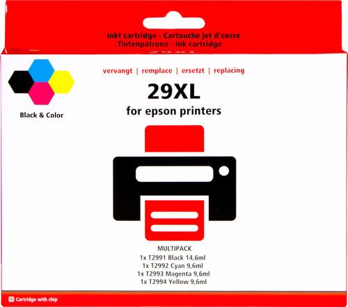 Pixeljet 29 XL 4-Kleuren Pack voor Epson printers (C13T29964010) Main Image