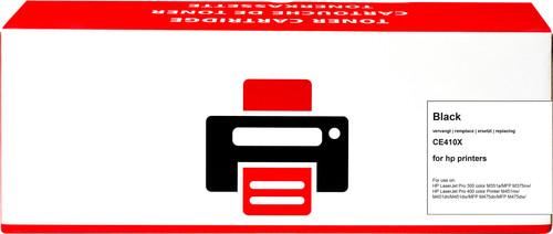 Pixeljet  305X Toner Noir XL pour imprimantes HP (CE410X) Main Image