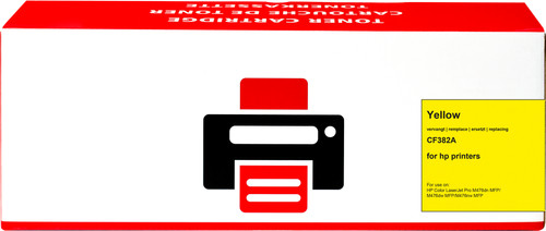 Pixeljet 312A Toner Jaune pour imprimantes HP (CF382A) Main Image