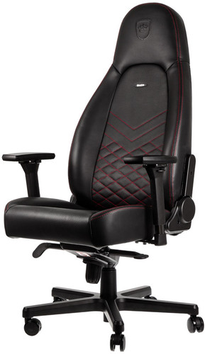 Noblechairs ICON Gaming Chair Black/Red Main Image
