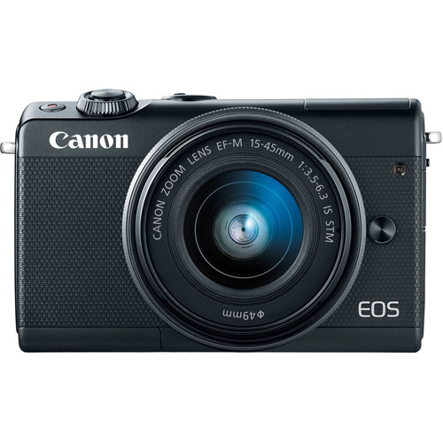 Canon EOS M100 Zwart + 15-45mm IS STM Main Image