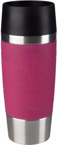 Tefal Travel Mug 0,36 litre inox/raspberry Main Image