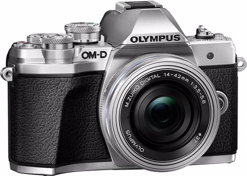 Olympus OM-D E-M10 Mark III Body Zilver + 14-42mm Main Image