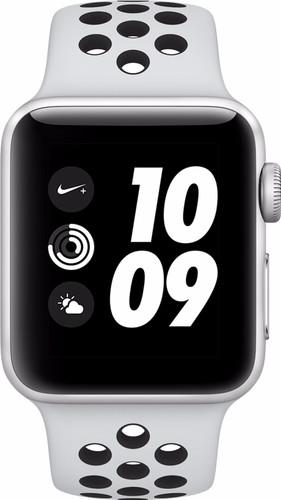 Apple Watch Series 3 Nike+ 42mm Zilver Aluminium/Zwart Sportband Main Image