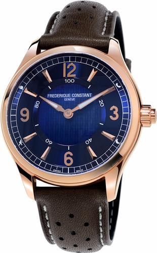 Frederique Constant Horological Blue / Brown Main Image