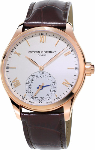 Frederique Constant Horological White / Dark Brown Main Image