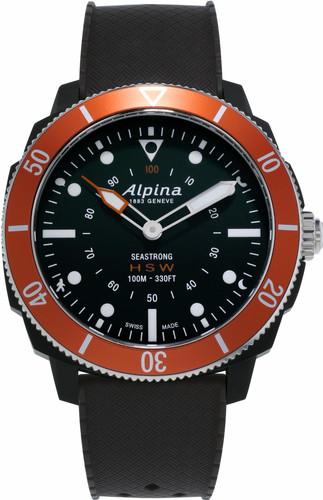 Alpina Seastrong Horological Hybrid Black / Orange Main Image