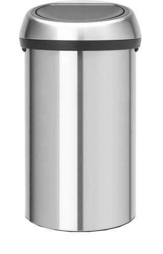 Brabantia Touch Bin 60 Liter Matt Steel Main Image