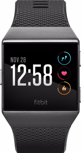 Fitbit Ionic Charcoal & Smoke Gray Main Image