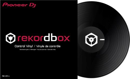 Pioneer RB-VS1-K DVS Control Vinyl Noir Main Image