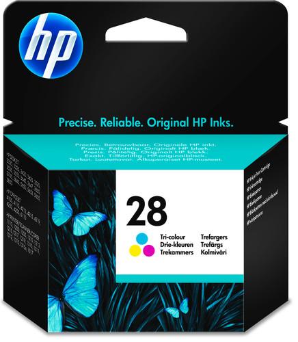 HP 28 Tri-color Ink Cartridge 3 Colors (C8728AE) Main Image