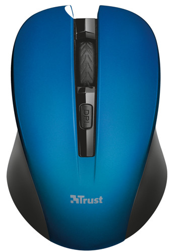 bb80a940076 Trust Mydo Silent Click Wireless Mouse Blue - Coolblue - Before 23 ...