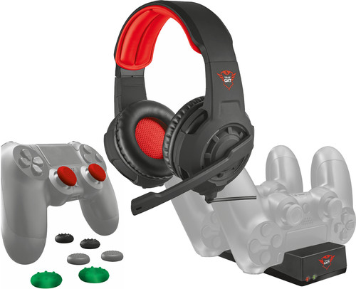 Trust PS4 Pack (Casque Gaming + Appui-Pouces + Station de Charge) Main Image