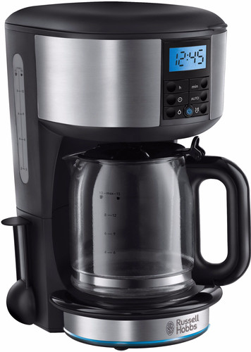 Russell Hobbs Buckingham Silver Coffee Machine Main Image