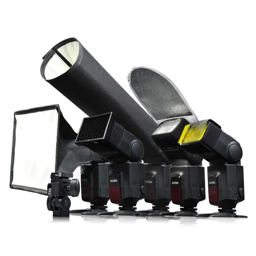 Godox Speedlite SA-K6 Kit d'Accessoires Main Image