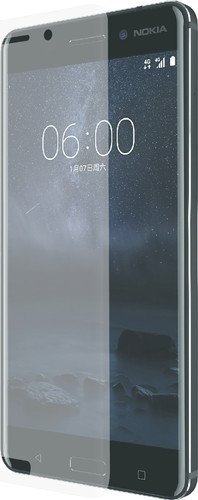 Azuri Nokia 6 Protège-écran Incurvé en Verre trempé Lot de 2 Main Image
