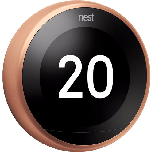 Google Nest Learning Thermostat V3 Premium Cuivre Main Image