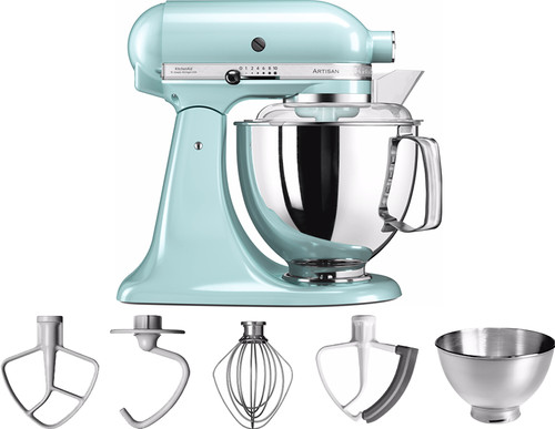 KitchenAid Artisan Mixer 5KSM175PS IJsblauw Main Image
