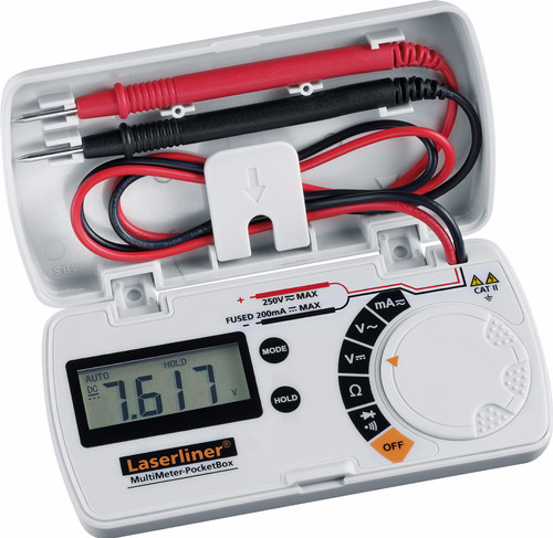 Laserliner MultiMeter-PocketBox Main Image