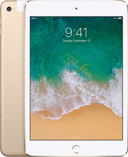Apple iPad mini 4 Wi-Fi + 4G 128 Go Or Main Image