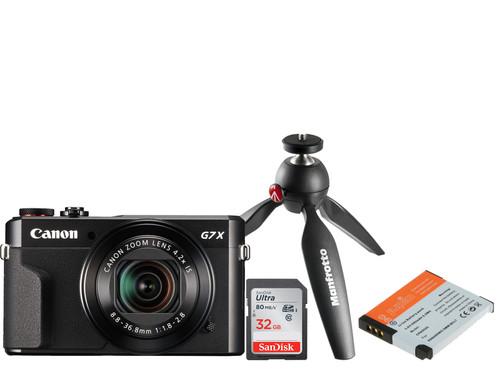 Vlogkit voor de gevorderde - Canon Powershot G7 X II Main Image