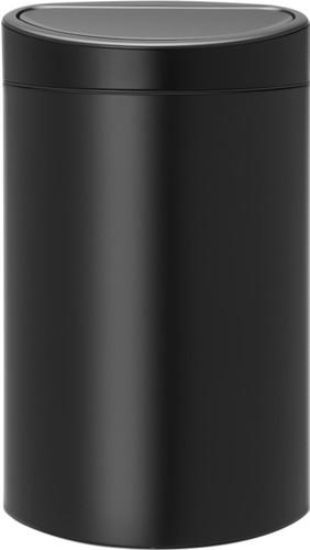 Brabantia Touch Bin 40 50 Liter.Brabantia Touch Bin 40 Liter Matt Black