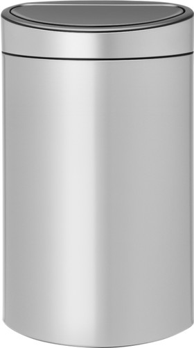 Brabantia Touch Bin 40 Liter Metallic Grey Main Image