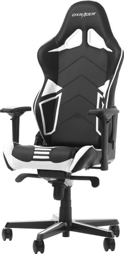 DXRacer RACING PRO Gaming Chair Zwart/Wit Main Image