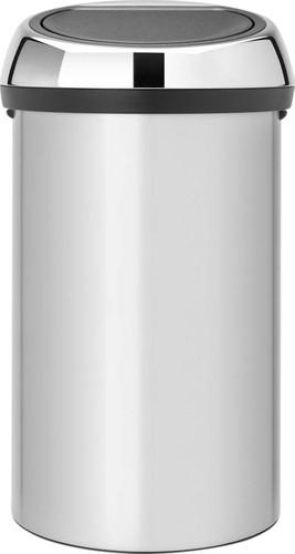 Brabantia 60 Liter.Brabantia Touch Bin 60 Liter Metallic Gray