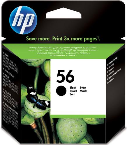 HP 56 Cartridge Black (HPC6656A) Main Image