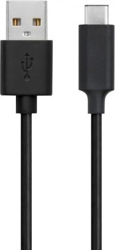 XQISIT USB C Kabel 1m Zwart Main Image