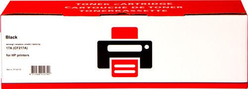 Toner noir authentique 17A pour imprimantes HP (CF217A) Main Image