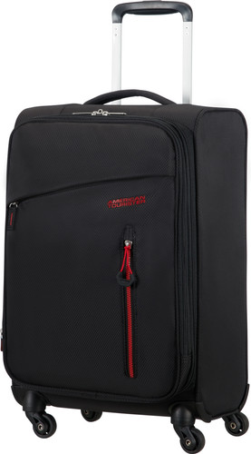 American Tourister Litewing Spinner Extensible 55 cm Noir Volcanique Main Image