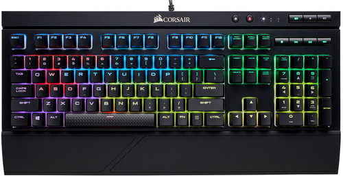Corsair K68 RGB Cherry MX Red Gaming Toetsenbord AZERTY Main Image