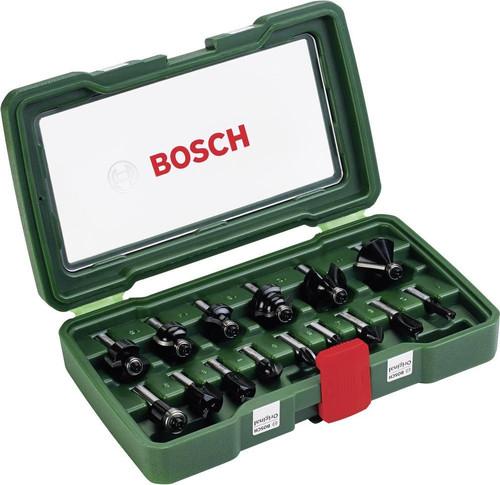 Bosch 15-delige Frezenset Hout Main Image