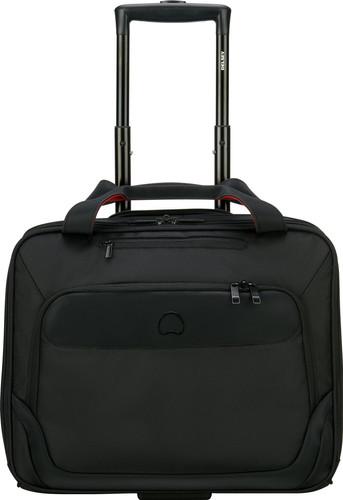 "Delsey Parvis Plus Boardcase Valise-trolley 15,6"" Noir Main Image"