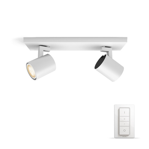 Philips Hue Runner opbouwspot White Ambiance 2-lichts Wit Bluetooth Main Image