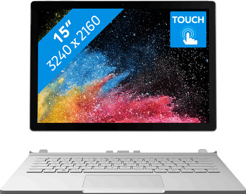 "Microsoft Surface Book 2 - 15"" - i7 - 16Go - 512Go FR Azerty Main Image"