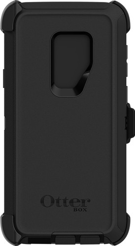 super popular d74c1 4e6ce Otterbox Defender Samsung Galaxy S9 Plus Back Cover Black