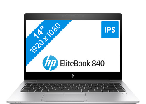 HP Elitebook 840 G6 i5-8gb-256gb Azerty Main Image