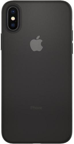buy online fbd2b e9c7f Spigen Air Skin Apple iPhone X Back Cover Black